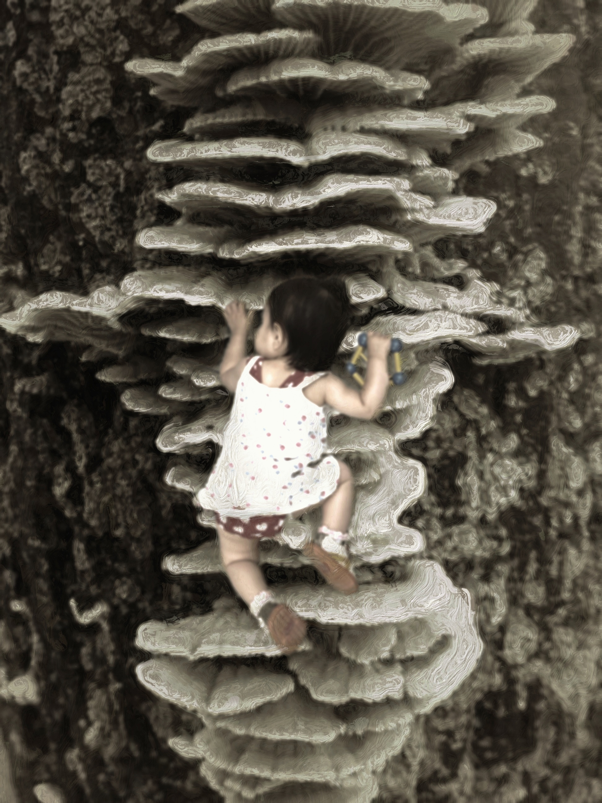 Climbing up through my daddy's dreams of giants and ogres