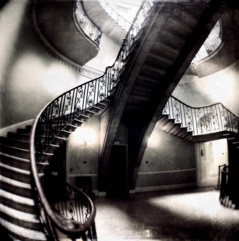 """Somerset House Nelson and Stamp Staircases"""