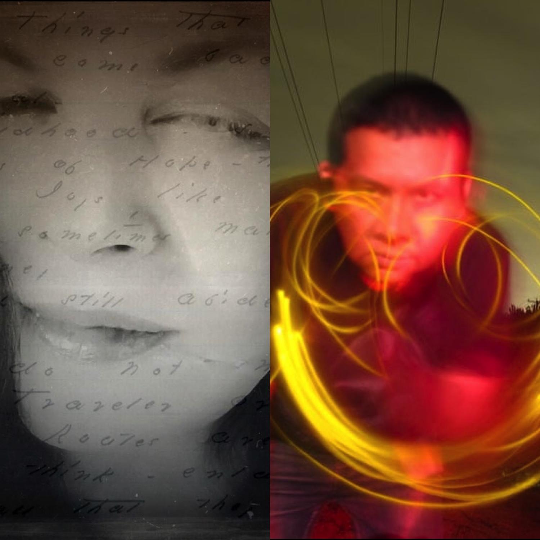 LISA PETERS - NEM ARTIST & ALDO PACHECO - NEM FOUNDER ARTIST - CURATORS OF NEM P.U.R.E.
