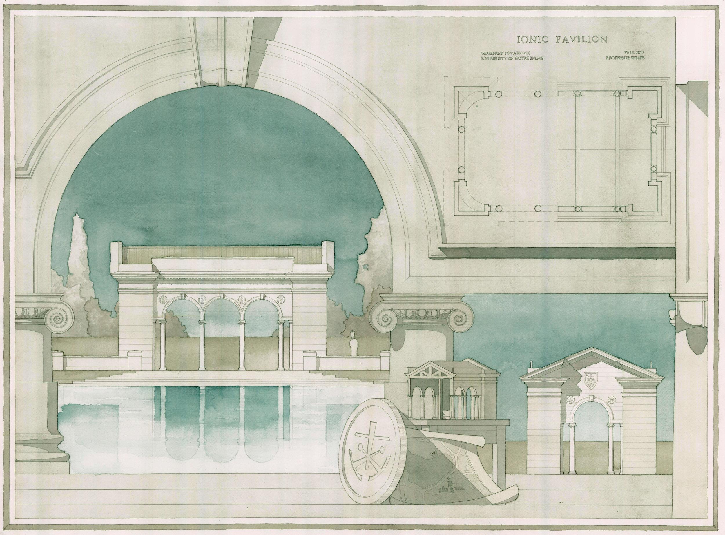 Ionic Pavilion