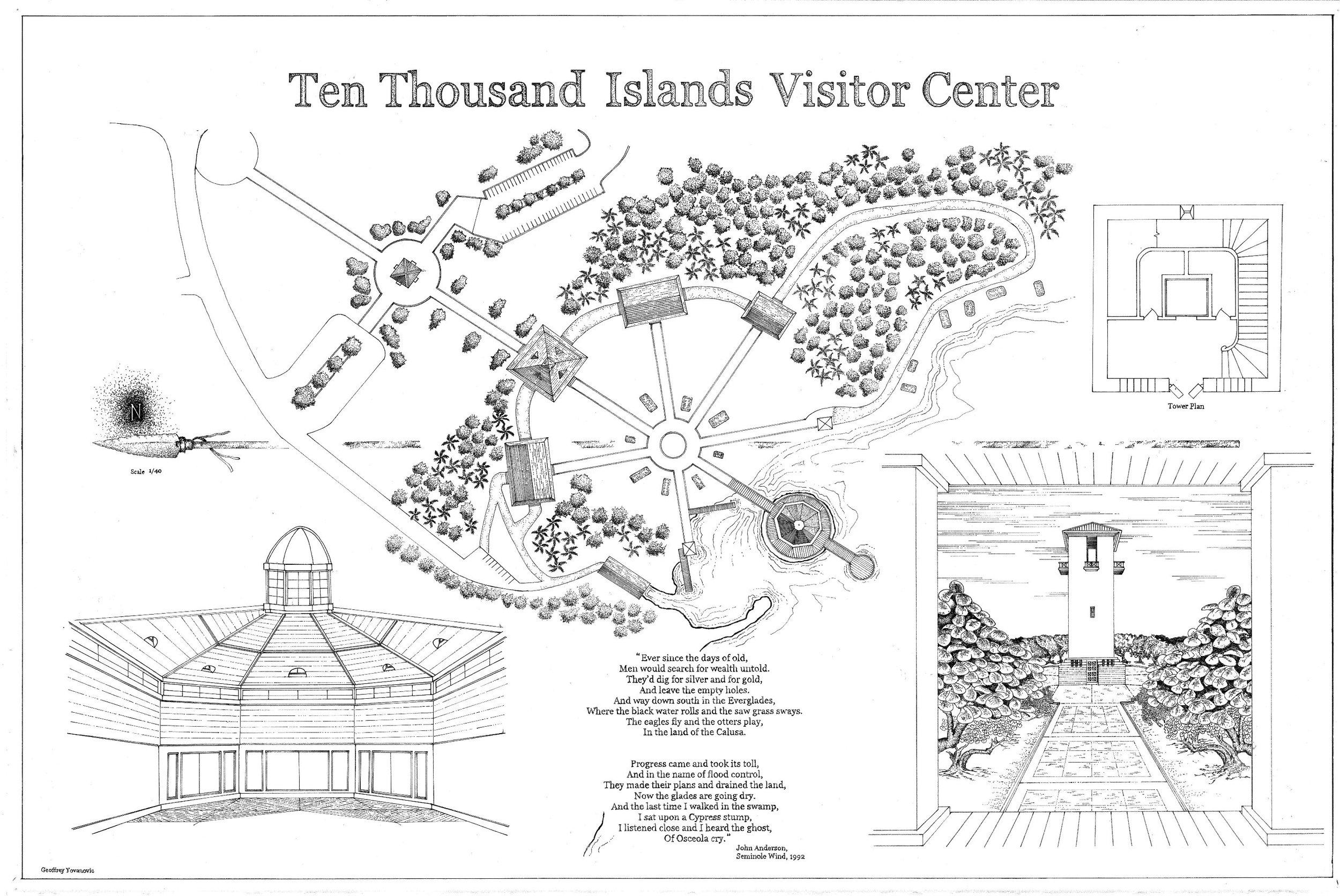 Everglades Visitor Center Masterplan