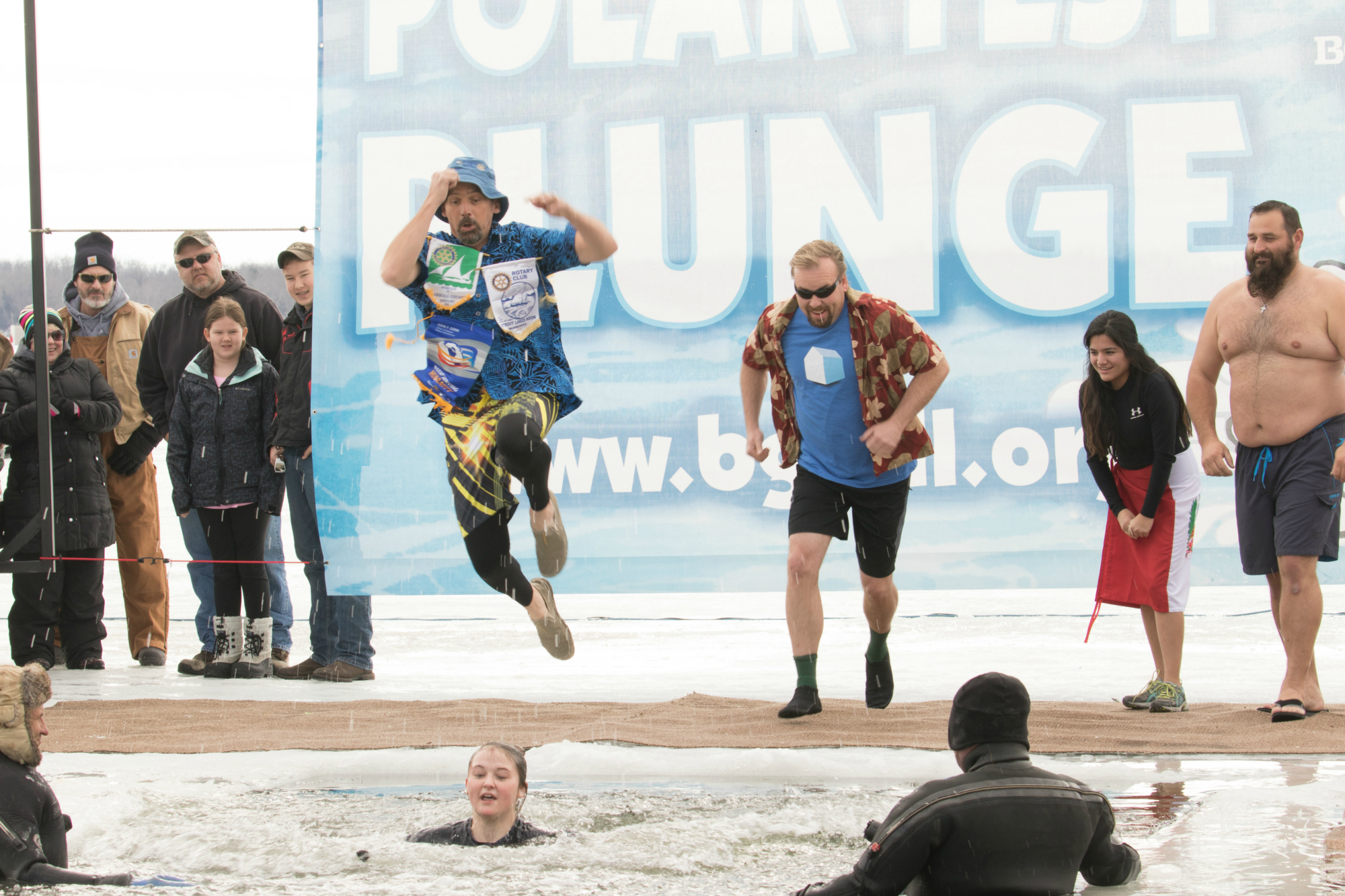 Polar Plunge - Take an icy dip for a good cause