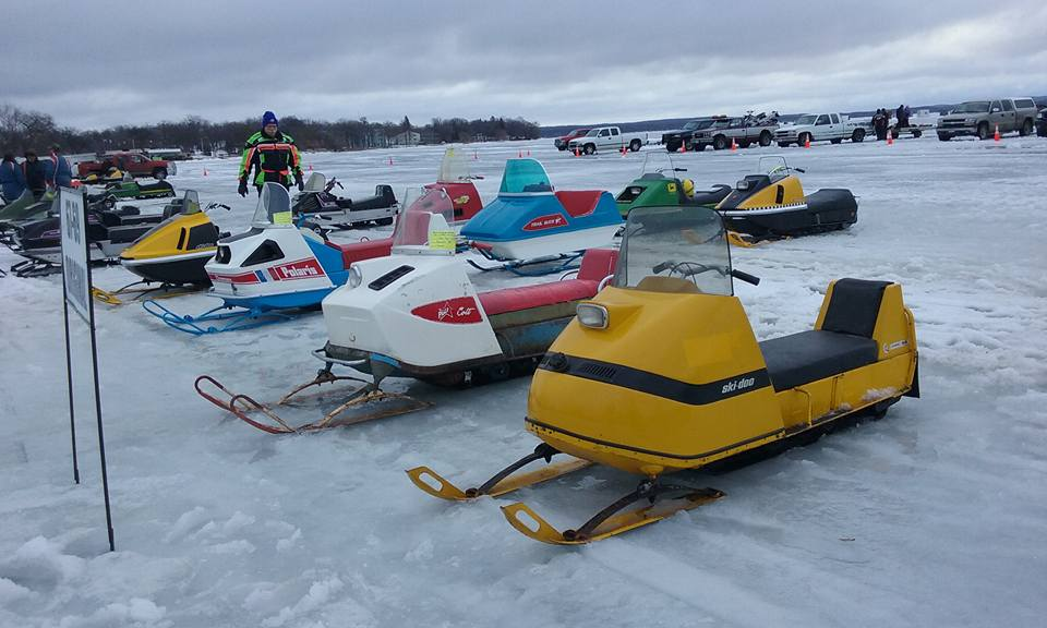 Ultra Snowmobile Rally - View or swap vintage rides at this meet