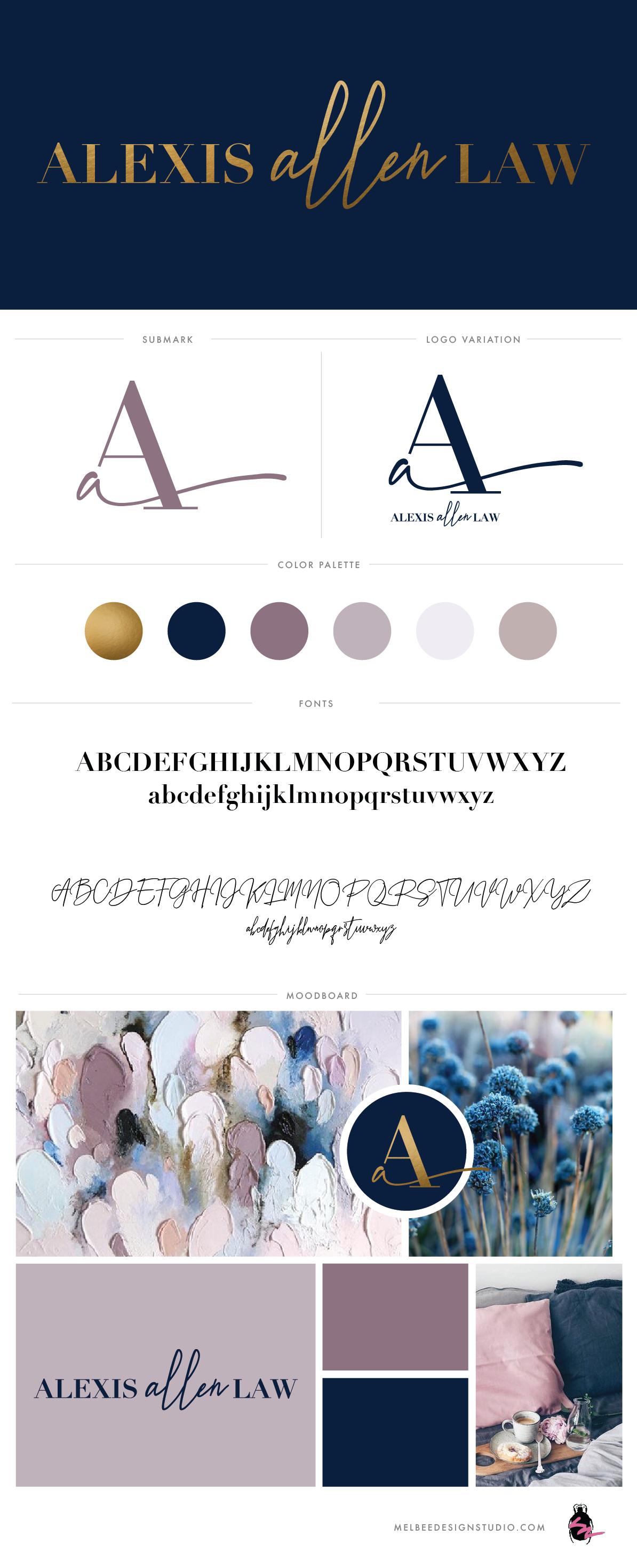 Logo design, logo, branding, law firm, monogram design