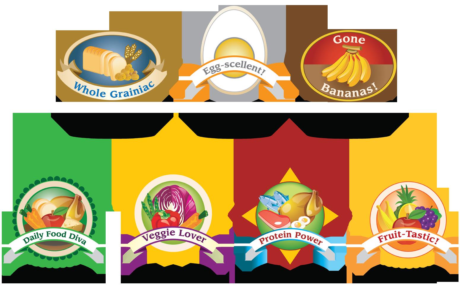 WIC Family Journal Badges