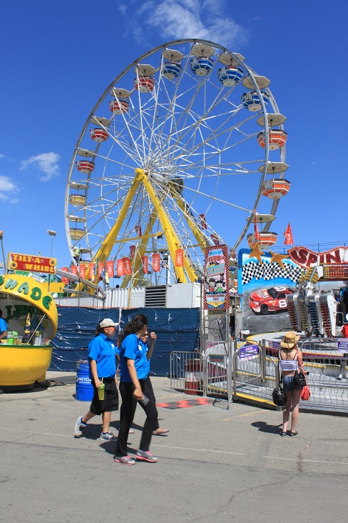 Calgary Stampede Ferris Wheel (Photo: Shelagh McHugh Cherak)