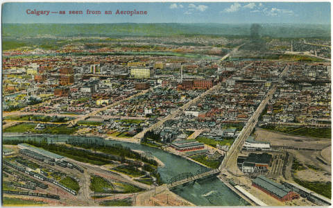 Calgary, 1924. (Photo:  Calgary Public Library )