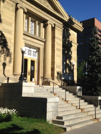 The literary heart of Calgary's Beltline: the Memorial Park Library