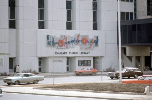 The Old Central Library in the 1970s (Photo:  Calgary Public Library Williams & Harris Shared History Centre )