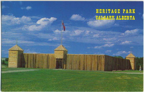 Heritage Park as it once was (Photo: Calgary Public Library  Postcards from the Past )