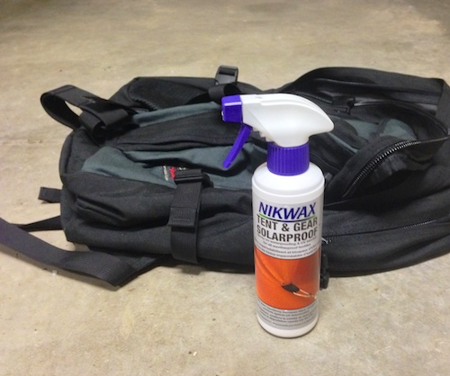 NIKWAX, great for packs, shoes and hats