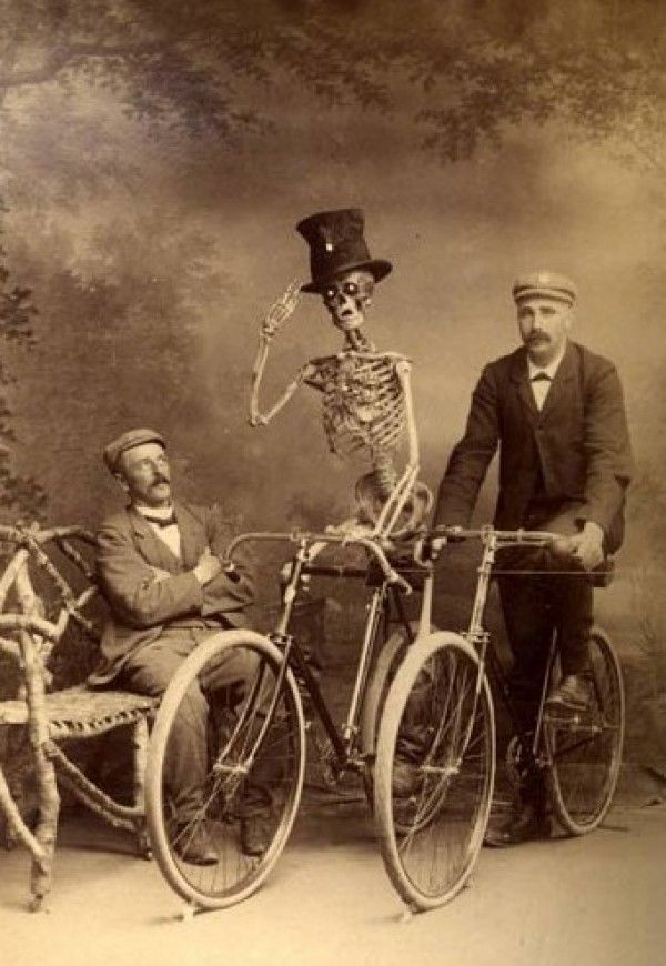 Funny bones: The skeleton's strange journey from horrific to humorous
