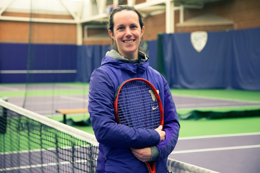 UW Women's Tennis coach Robin Stephenson on winning with willpower