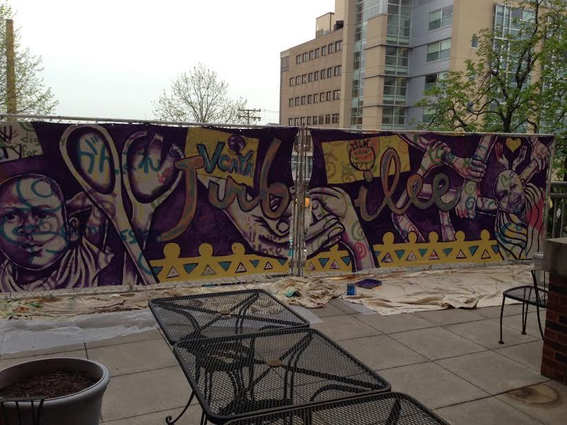 Carlow university 2016 mural