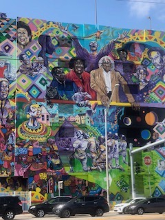 """""""Liberty City History"""" Miami's Largest Mural sits on i95 and NW 79th St. in Liberty City."""