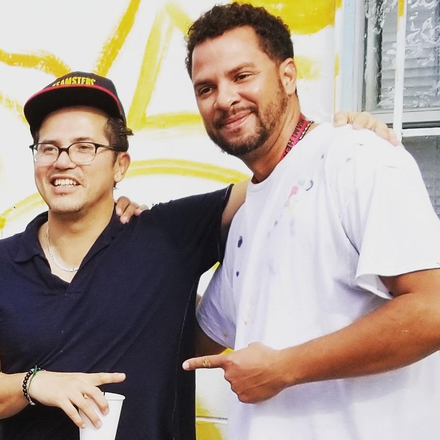 "John Leguizamos new film showcases Kyle Holbrook's murals - Overtown Walls ""Respect"" -Art Basel 2018"