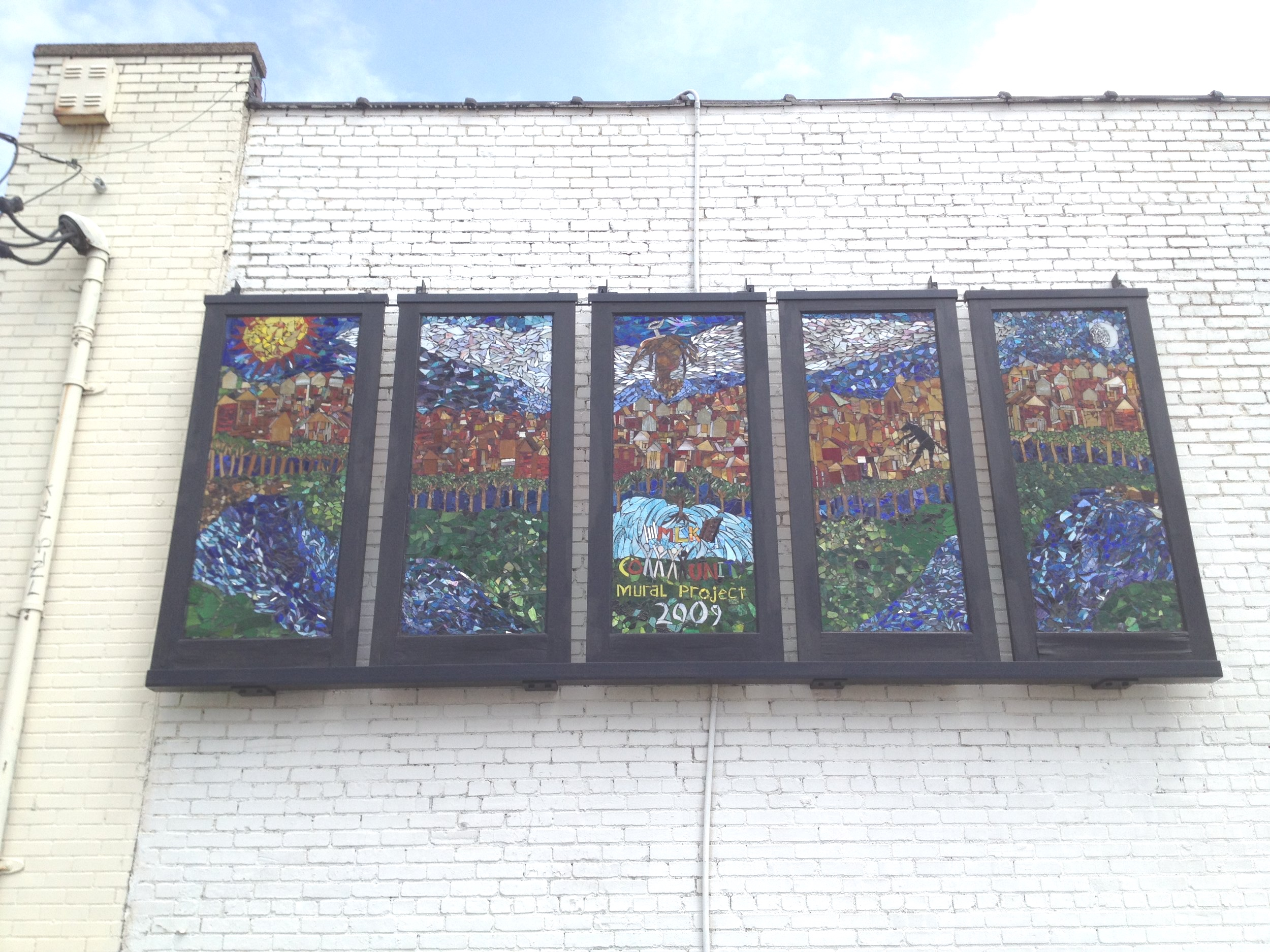 Garfield Glass Mural