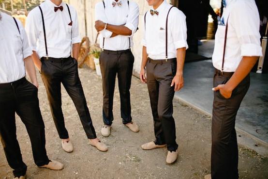Suspenders Groomsmen