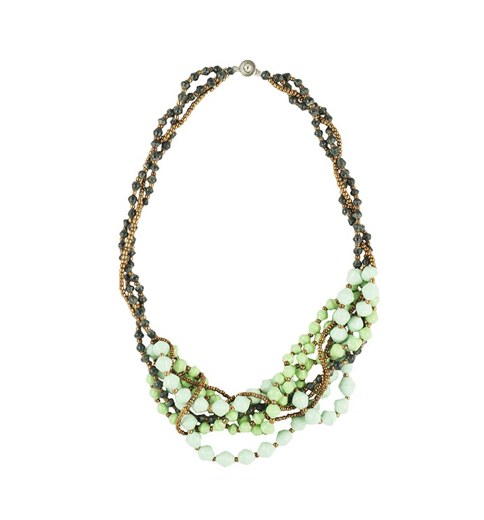 Green Swivel Necklace