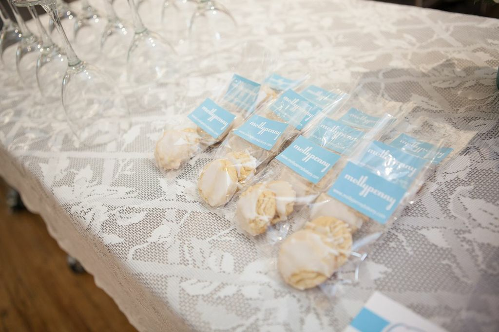 Delicious  Molly Penny  treats for our guests - a perfect mix of sweet and sour...yum!