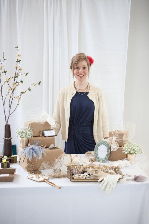 Accessories designer Anna Mains