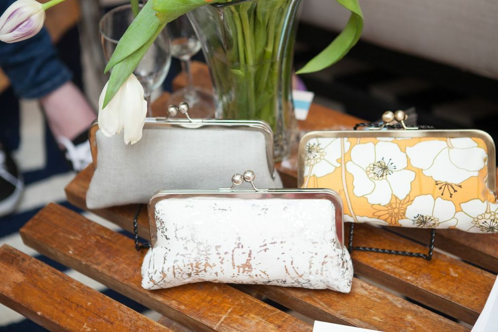 Winifred Bean clutches by Oatmeal Lace.