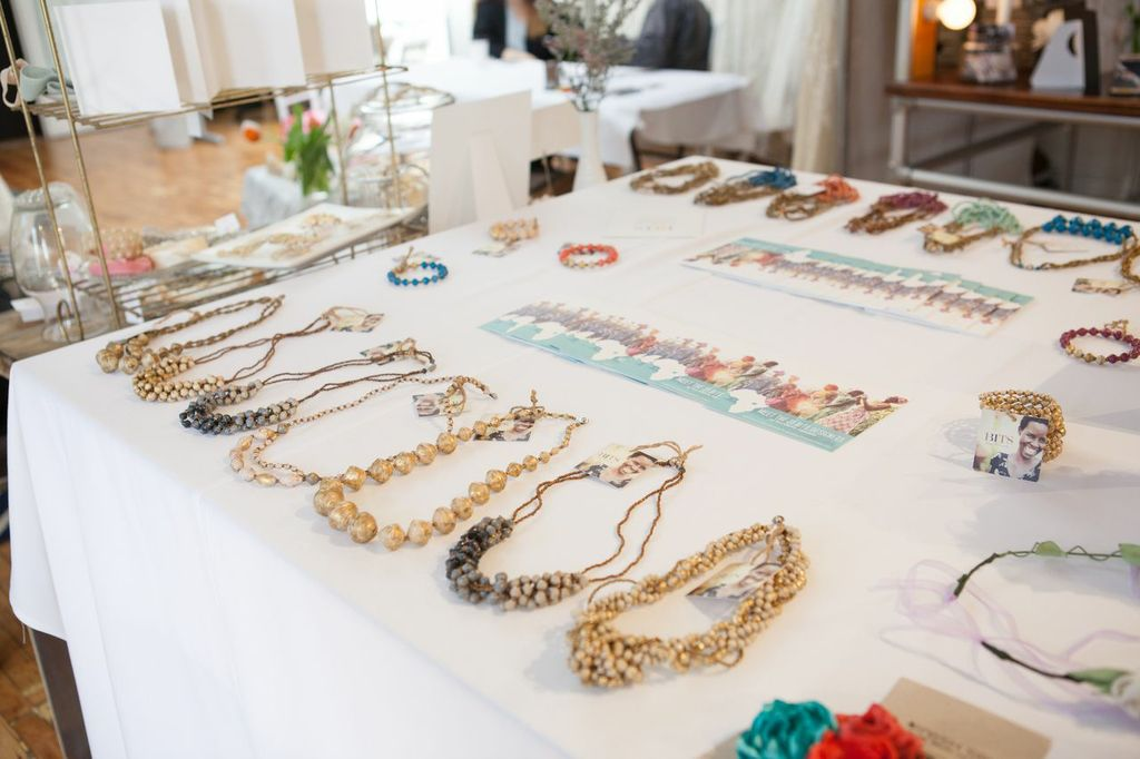 31 Bits  necklaces - handmade by women in Africa - a really great company to check out and support.