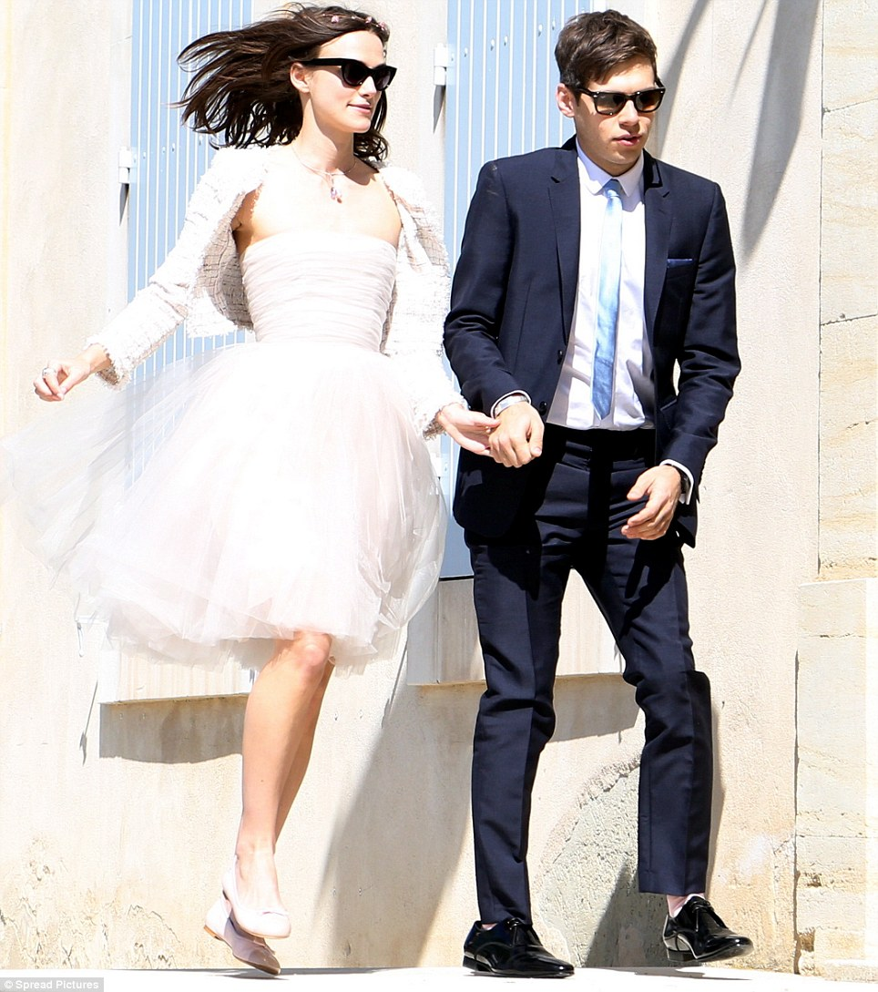 Keira Knightley wedding