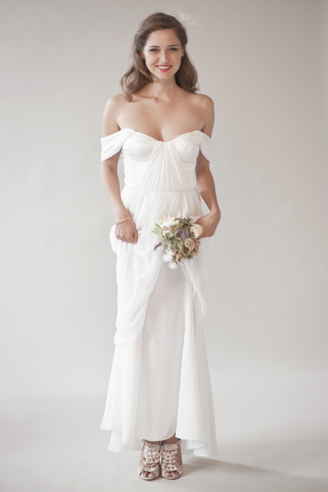 vintage-inspired wedding dress