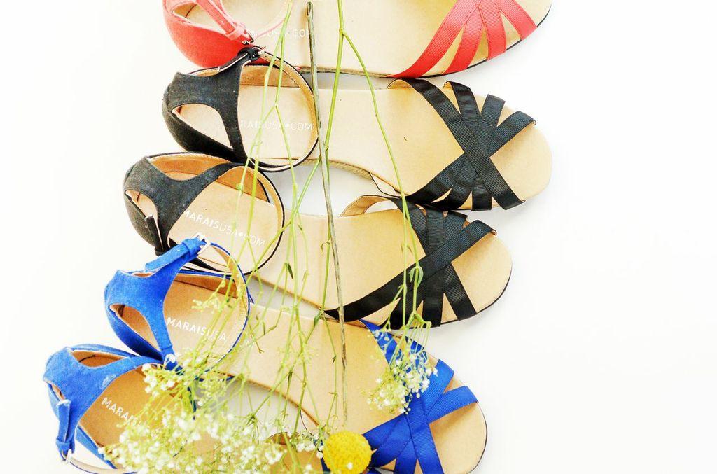 MaraisUSA sandals for wedding