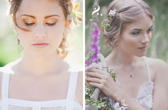 nude lip wedding makeup inspiration