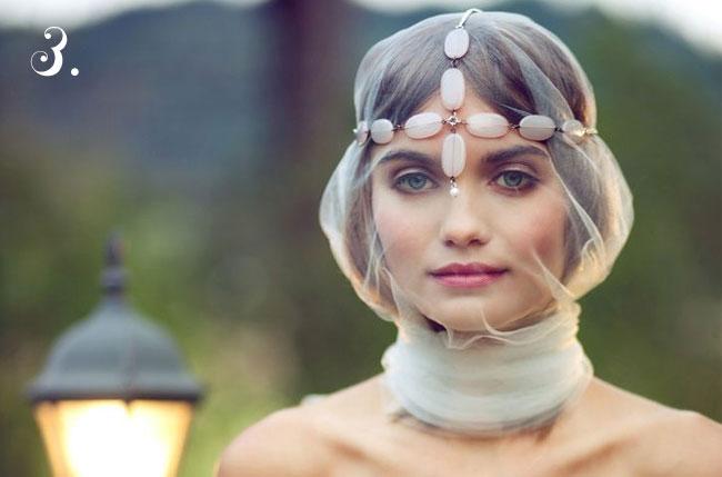 indie bride makeup for wedding day