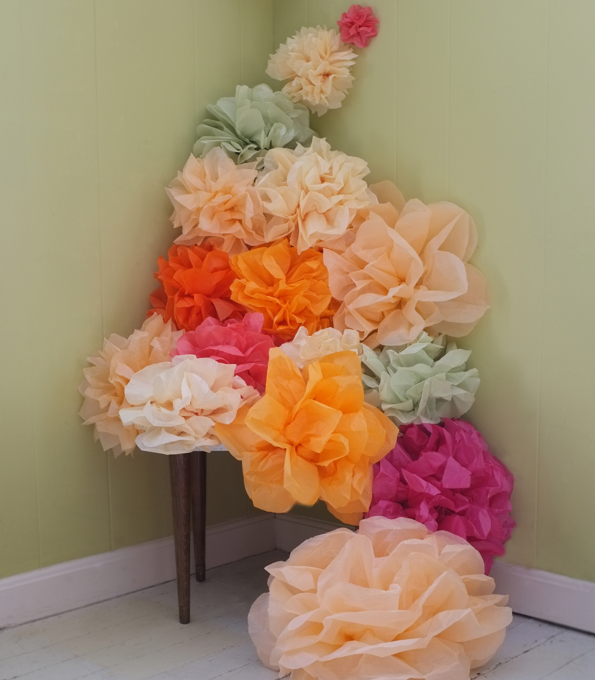 pom DIY arrangement Alana Jones Mann
