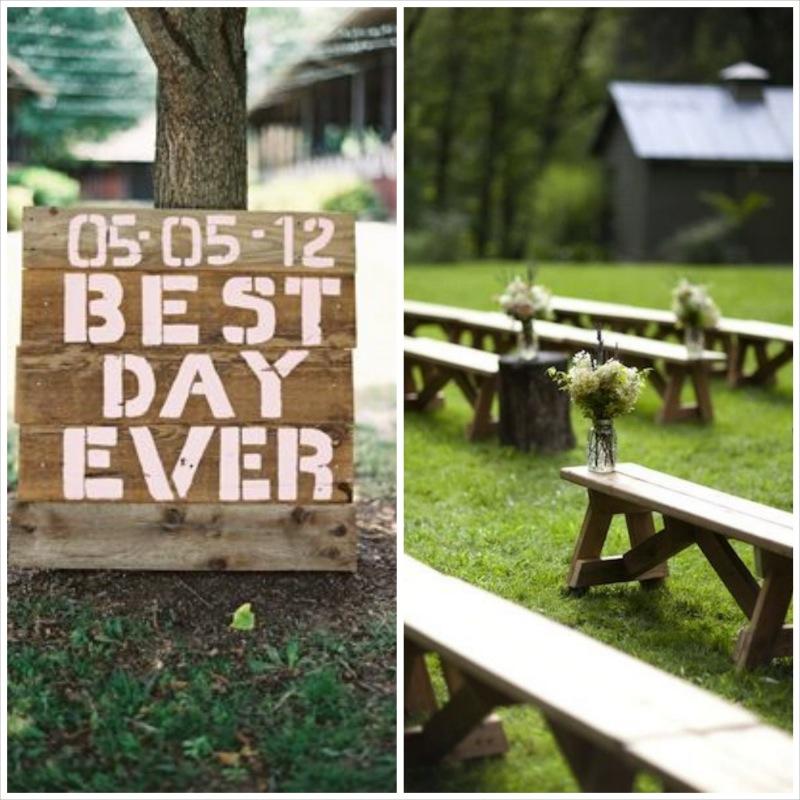 barn wedding ceremony details