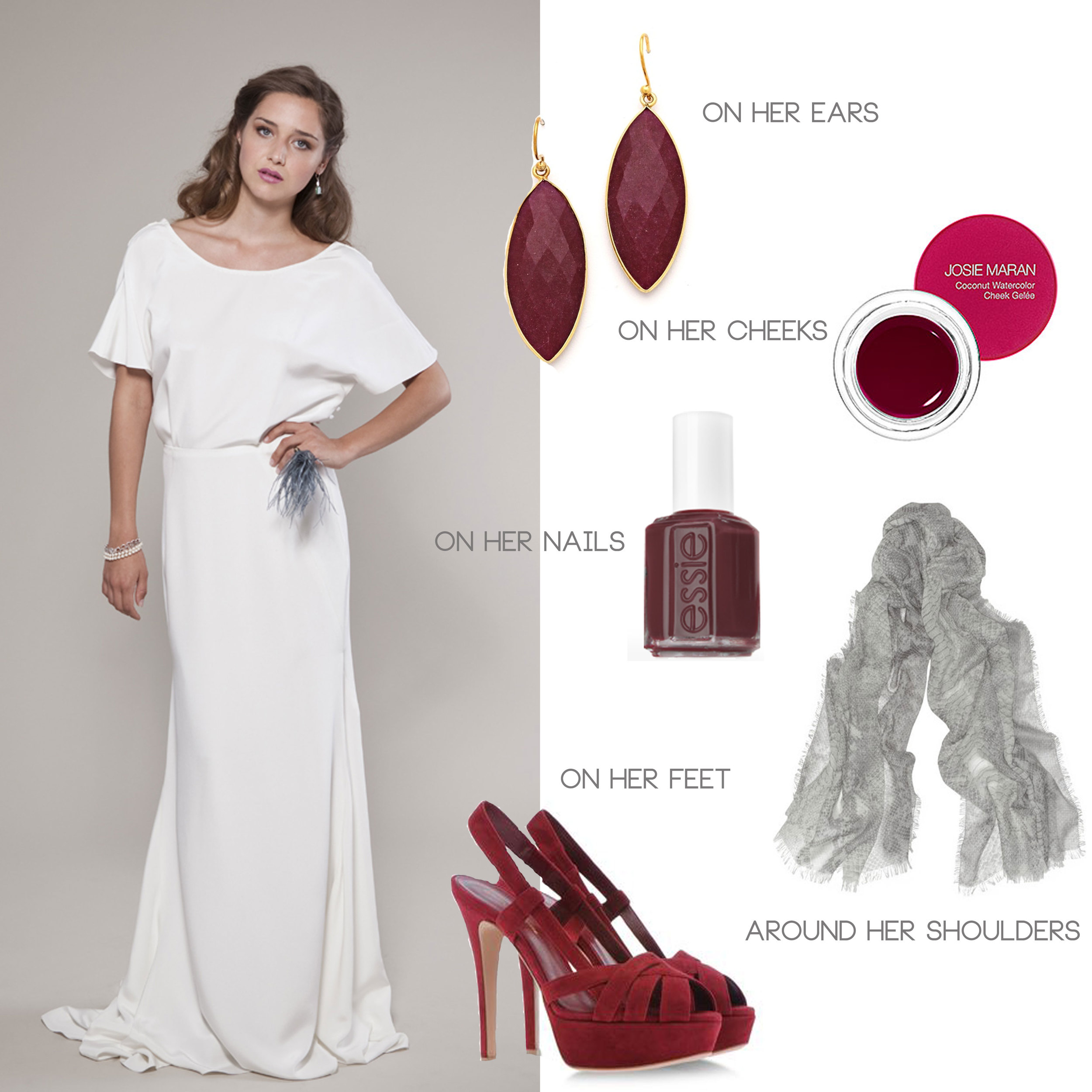 what to wear to a vineyard wedding, featuring the winifred bean audrey dress
