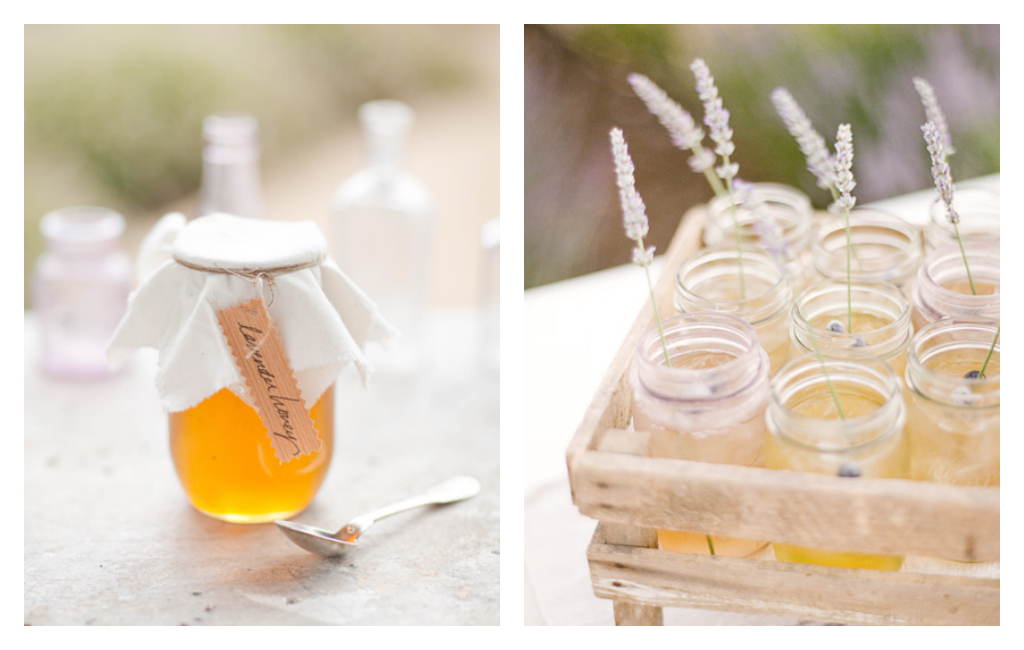 Wedding, Lavender, Honey, Cocktails, Favors, Drinks, Bridal, Decor