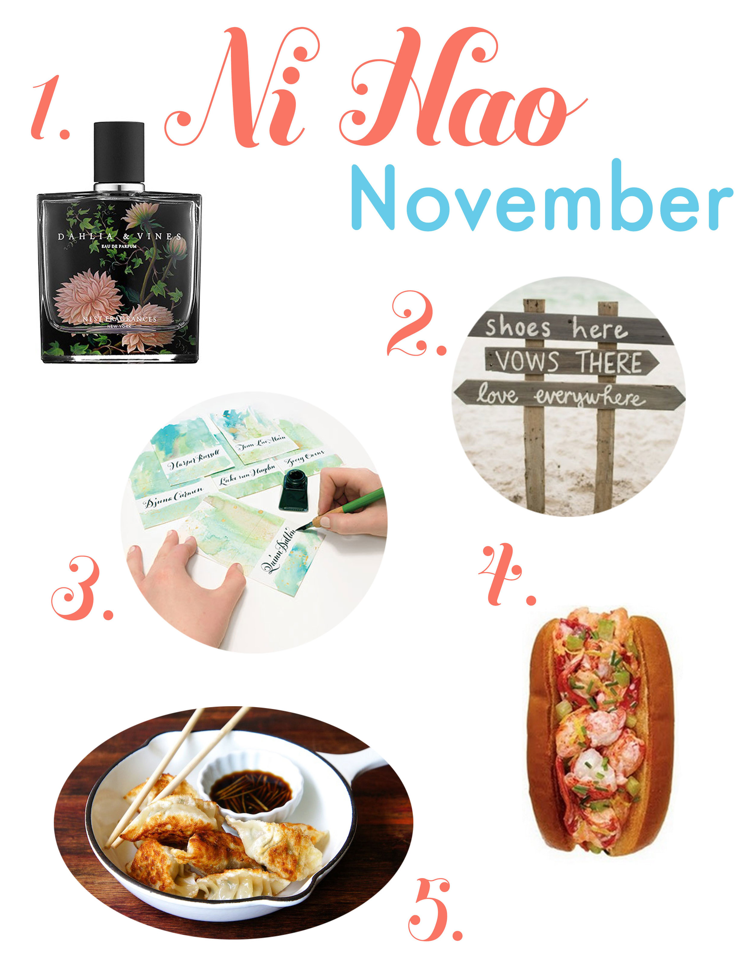 November, Perfume, Food, Lobster Rolls, Watercolor, DIY, Crafts, Art, Dumplings, Recipes