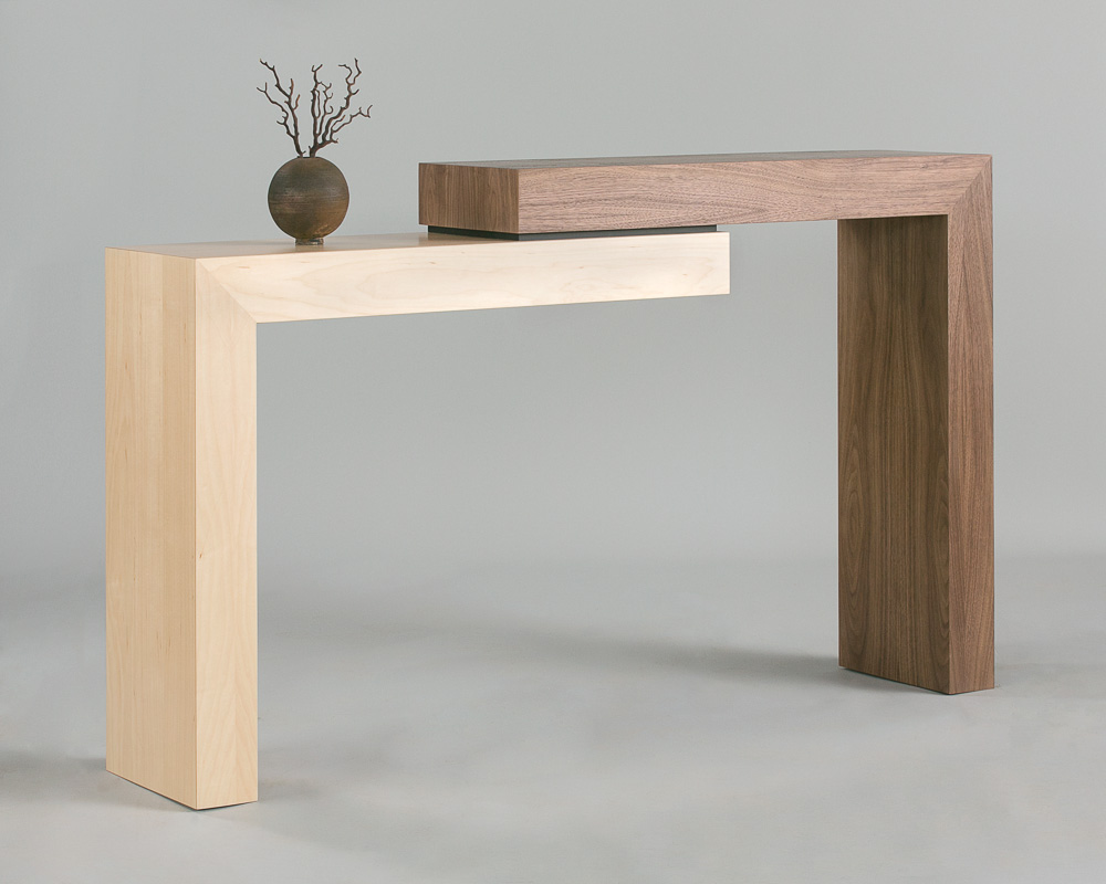 Stepped Walnut Table II