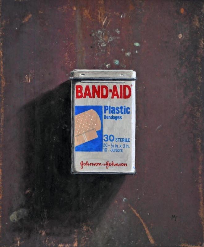 Bandaid Tin