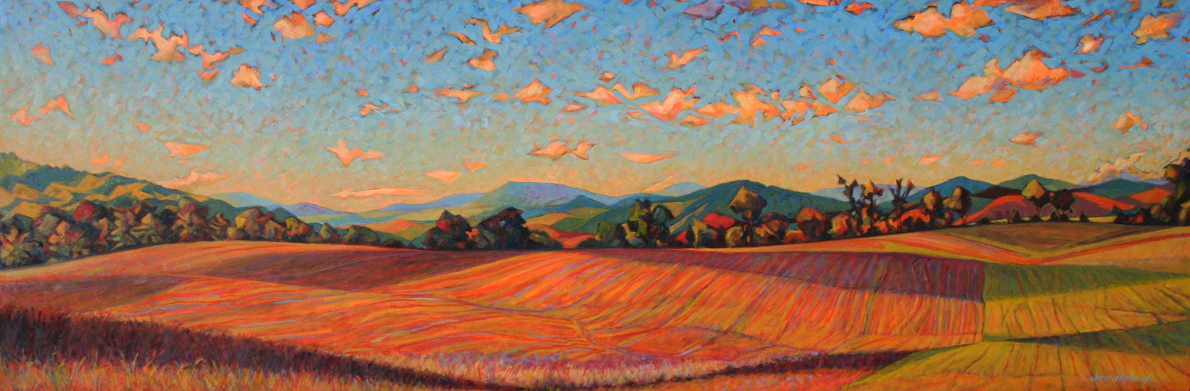 October Soybean Field