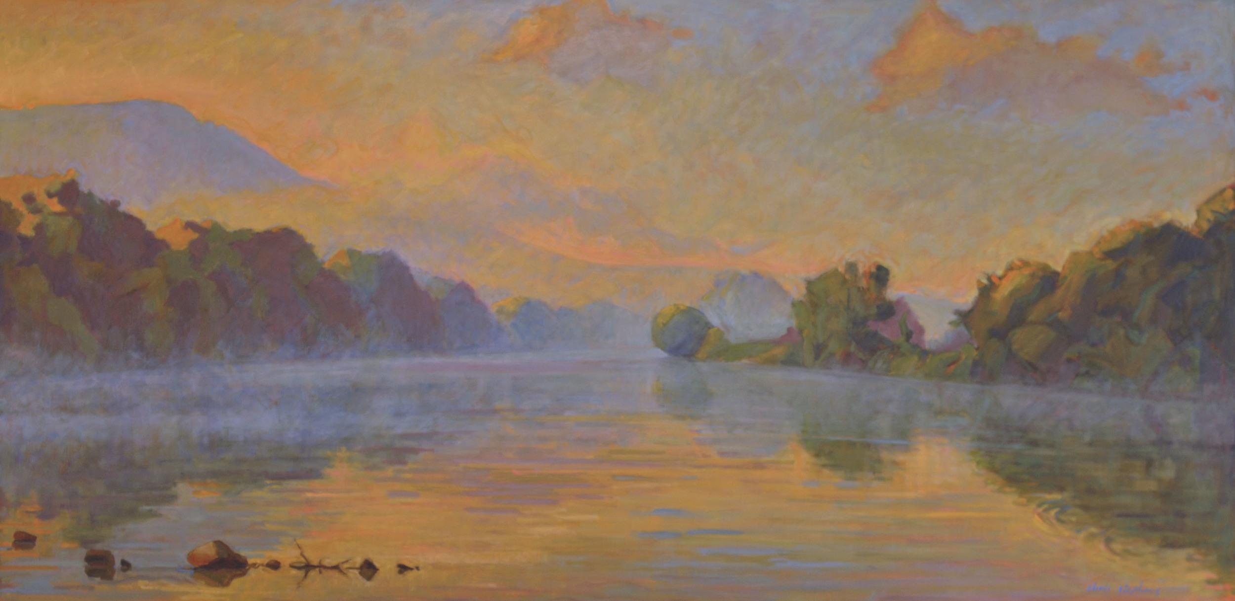 Downriver Fog