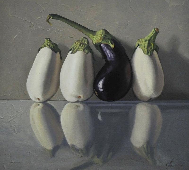 Four Eggplants
