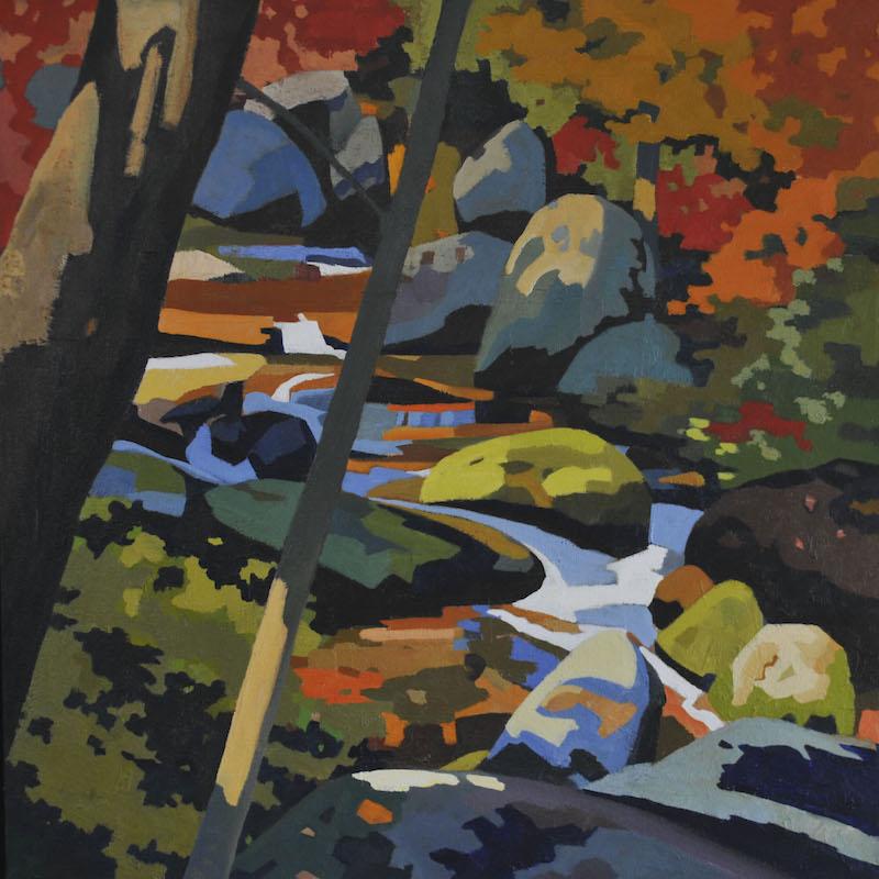Hazel River Autumn