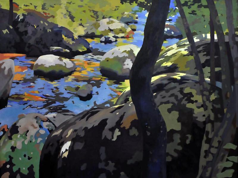 Rocks on the Hazel River