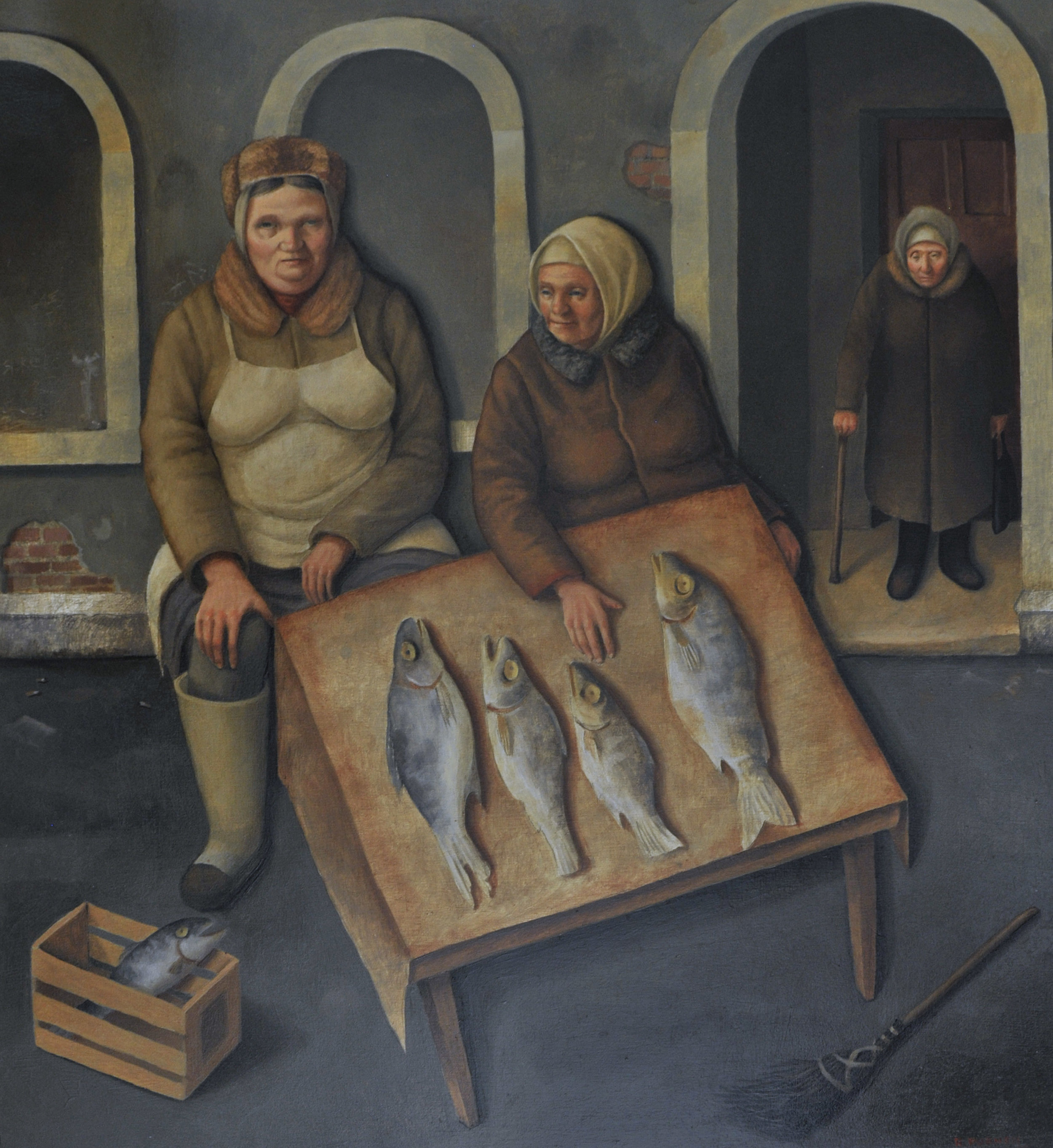 Women Selling Fish