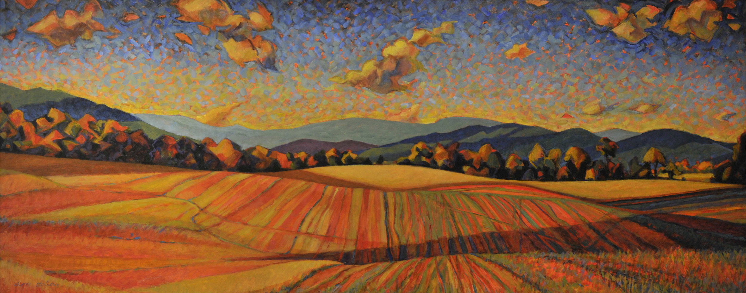 Quilted Fields IV