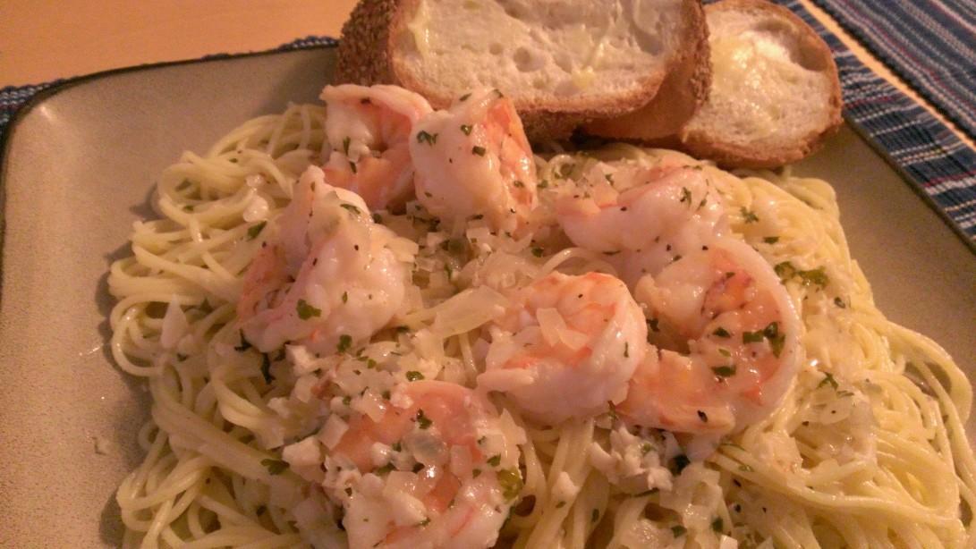 Shrimp Scampi! Looks amazing, doesn't it?!