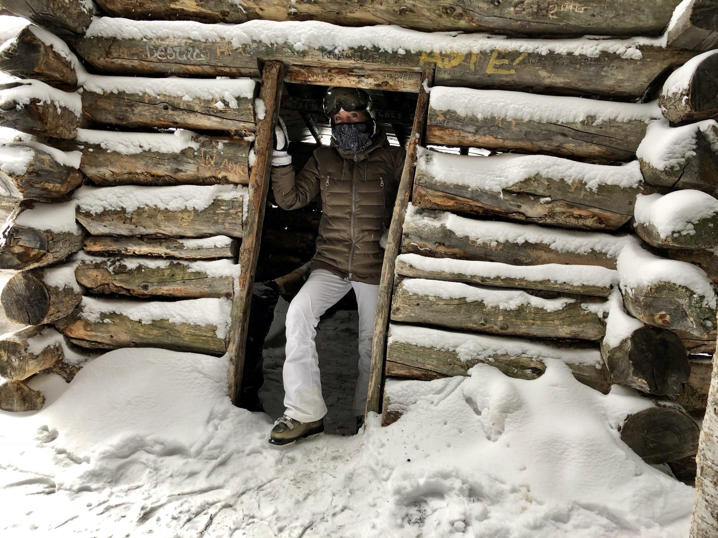 Secret hut off the beaten path...