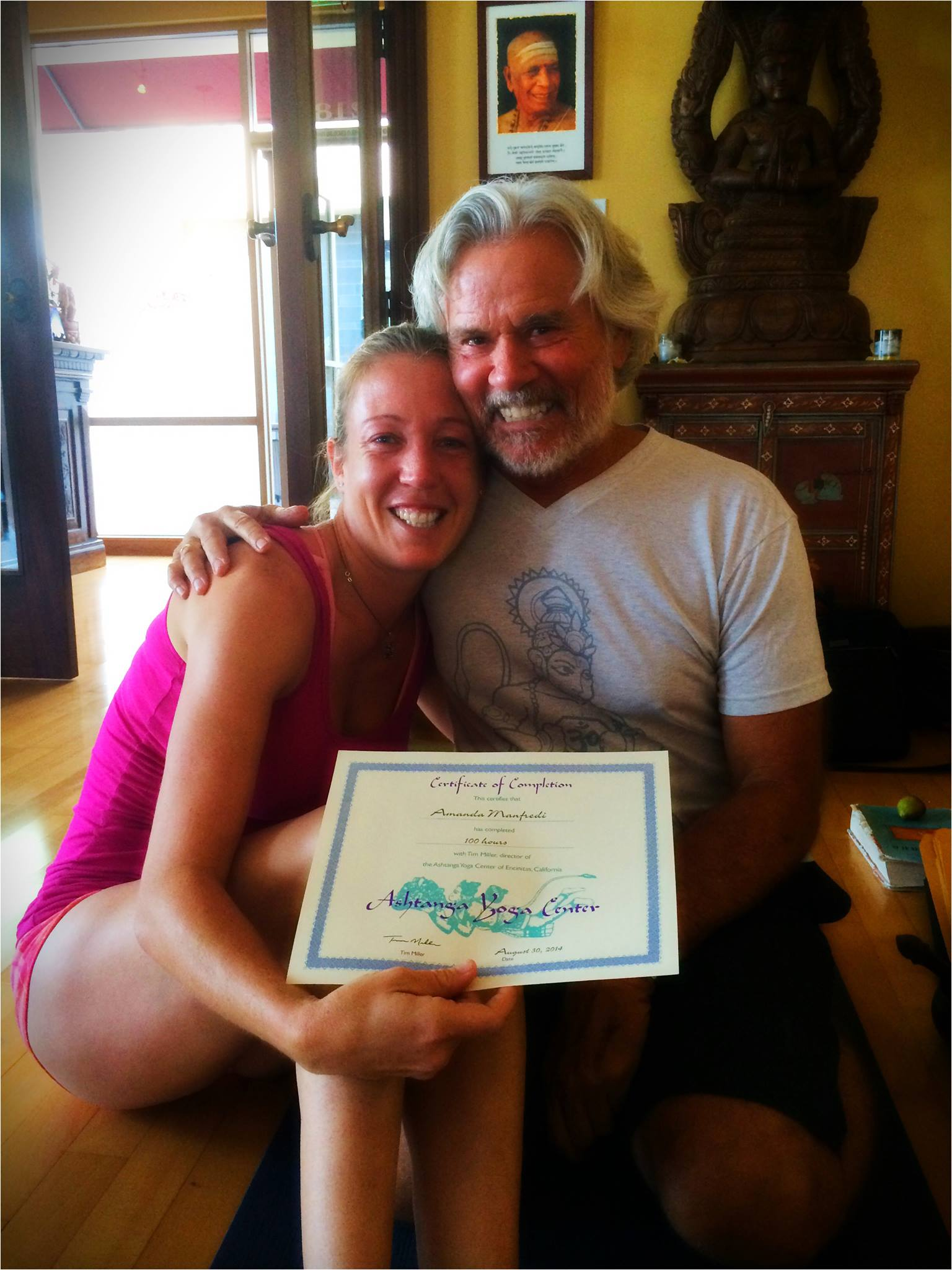 Intermediate Series Teacher Training with Tim Miller, 2014