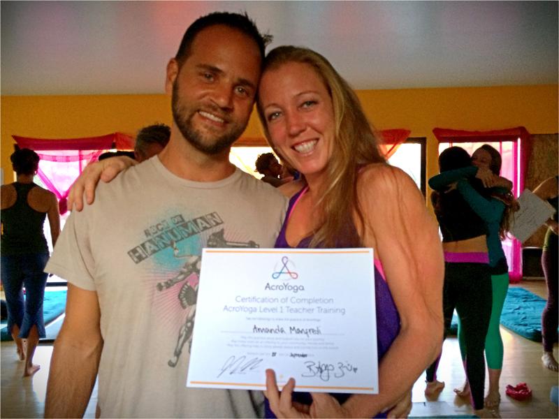 AcroYoga International Teacher Training with Jason Nemer, 2014
